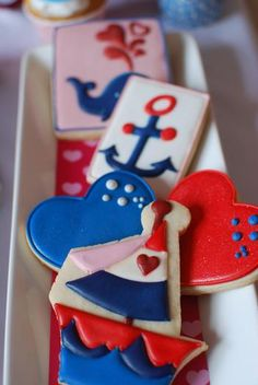 love boat theme #cookies {Hostess with the Mostess®}