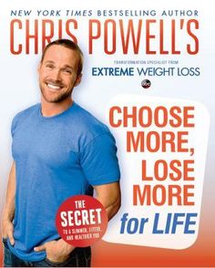 I've been watching extreme weight loss and I'm really impressed by Chris Powell's approach at losing weight. I could use a few tips ;)