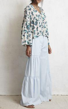 Garden Tie Blouse by WARM Now Available on Moda Operandi