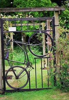 cool garden gate for a someday yard