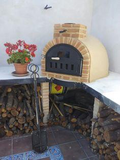 Horno construido en el domicilio de un cliente en la localidad de Madrid