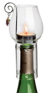 Wine or Liquor Bottle Tea Light Candle by AwesomeBottleCandles, $13.99
