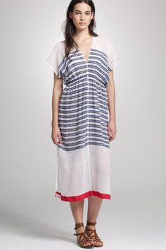 $220 J. Crew Dress via Refinery 29 I love this flowy, slightly nautical, pirate-wench-meets-fairy thing