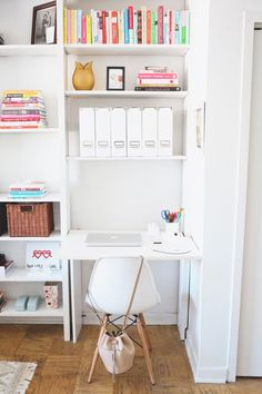 When space is in short supply, dreams of a home office often go out the window. Here's the good news: You can create a workspace in even ...