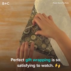 Wrapped Gifts Are the Best Thing You'll See All Day These gift wrappers aren't messing around.These gift wrappers aren't messing around. Christmas Holidays, Christmas Crafts, Christmas Decorations, Gift Wrapper, Present Wrapping, Japanese Gift Wrapping, Wrapping Papers, Wrapping Ideas, Ideias Diy
