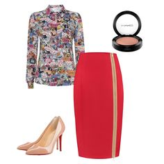 Blouse, Polyvore, Image, Fashion, Moda, Fashion Styles, Blouses, Fashion Illustrations, Woman Shirt