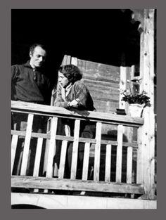 Katarzyna Kobro i Władysław Strzemiński / 1933