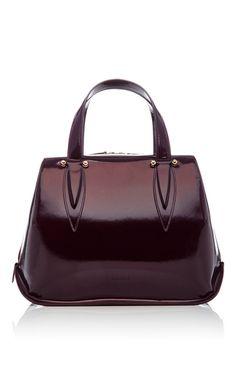 Small Benedetta Patent Bag. Purple HandbagsPurple PursePatent Leather ... fb8e1a1cff521
