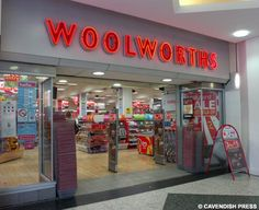 Woolworths .... I loved going to this store because my grandmother and I would always eat lunch there.