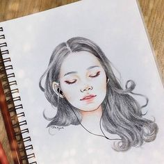 Talk me down #art #drawing #makeup #girl #pretty #cute #follow #wip #doodle #illustration #instaart #igdaily #sketch #inspiration #hair #vintage #cool #love #일상 #그림 #일러스트 #스케치