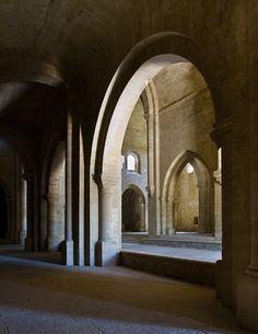L'Abbaye de Silvacane, La Roque d'Anthéron (Bouches-du-Rhône) Photo by PJ McKey