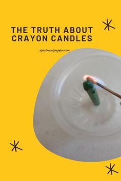 The Truth About Crayon Candles – Apartment Prepper Urban Survival, Wilderness Survival, Cheap Lighting, Keep The Lights On, Paper Light, Emergency Lighting, Saving Ideas, Zombie Apocalypse, Emergency Preparedness
