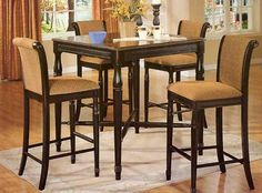 High Kitchen Table and Chairs