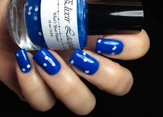 Fashion Polish: Elixir Lacquers Lov-a-Bully Collection Happy Tears and Blue Coat