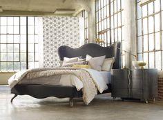 Master bed - stoney creek furniture (Hooker Furniture Melange King Bedroom Group)