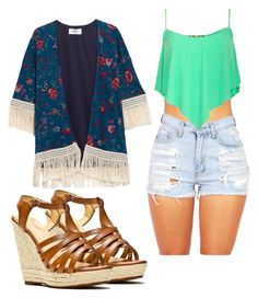 sunny sun... by kianne-mlv on Polyvore featuring moda, MANGO and Alexis Harrison