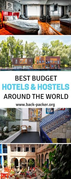 A guide to the best budget hotels and hostels around the world. Where to stay when you want to stretch your travel budget while still getting a good night's sleep. Practical travel tips. | Back-Packer.org
