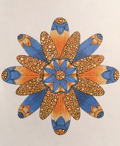 Mandala Colour, Mandala Art, Hippy Art, Mandala Coloring, Pretty Pictures, Quilling, Zentangle, Color Combinations, Display