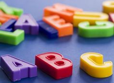 Magnetic letters-perfect for a classroom activity with cookie sheet! Childrens Alphabet, Alphabet Art, A Classroom, Classroom Activities, Simple Compound Complex Sentences, Subject And Verb, Magnetic Letters, Early Literacy, Powerful Words