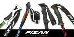Fizan has the perfect handle for each pole. We are always working to improve design, functionality and confort. www.fizan.it