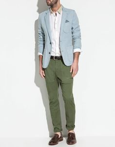 Got the blazer and pants yesterday, SO XCITED 4 SUMMER // Zara S/S '12 $150