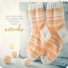Postikortti Aurinko Enjoy Your Life, Hygge, Leg Warmers, Cool Words, Knit Crochet, Poems, Thoughts, Feelings, Knitting