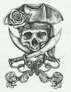 Skull & cutlass