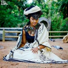 Traditional Xhosa Dresses Wedding,The acceptable old traditional Xhosa trend never gets boring, appearance lovers keeps accepting artistic African Wedding Attire, African Attire, African Wear, African Fashion Dresses, African Women, African Dress, African Clothes, African Tribes, African Style