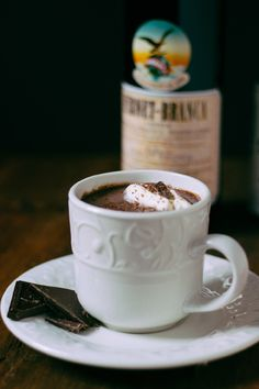 Minted Fernet Hot Chocolate by Vijay for The Boys Club