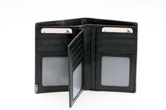 RFID-suojattu nahkalompakko 503-428 Wallet, Pocket Wallet, Diy Wallet, Purses