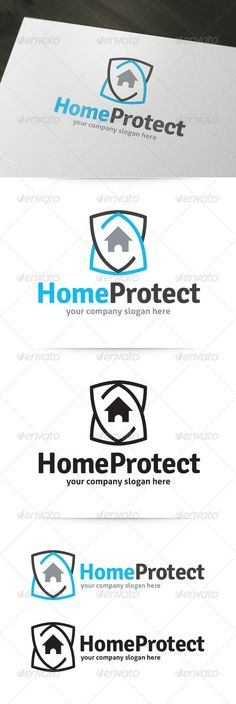 Home Protect Logo  #GraphicRiver        About the Home Protect Logo Template: 	 The Home Protect Logo is a strong and modern template for various business purposes. You can use this logo for security and protection related companies. Your customers will feel save and you radiate trust with this strong identity.  What's in the download?   A unique, fully editable and resizable vector logo.  Vertical and Horizontal variations  Black and white version  Illustrator AI file (CS and higher)…