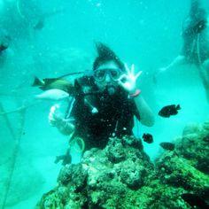 Diving at Tanjoeng Benoa, Bali indonesia