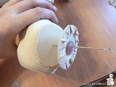 We sew doll dragonfly. Part 2