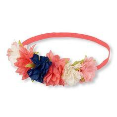 Girls Flower Headwrap - Multi - The Children's Place
