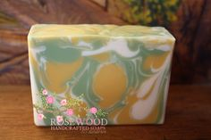 Lemongrass Green Tea Soap