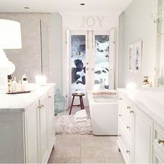 I want Jillian Harris' bathroom! Love this!