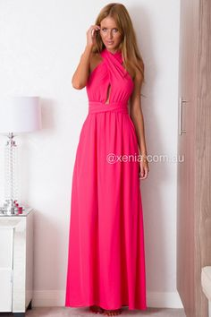 The Perfect Date Maxi,Front1,Magenta