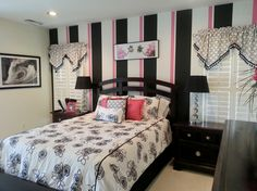20 Gorgeous Pink and Black Accented Bedrooms
