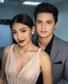 """Nadine Lustre and James Reid everyone! James Reid, Nadine Lustre Fashion, Nadine Lustre Makeup, Joanna Garcia, Eyebrow Makeup Tips, Liza Soberano, Perfect Couple, Girls Makeup, Celebs"