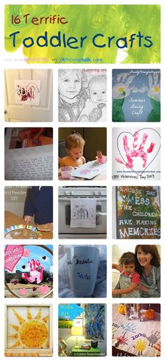 16 Terrific Toddler Crafts | curated by 'Beauty Through Imperfection' blog!