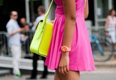 neon trend Spring 2012