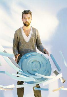 Refoam pouf By sjoerd Jonkers - Studio Sjoerd Jonker, on Designeros.com $400.00 #designeros