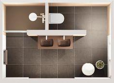 Salle de bains confort dans 9m² | Mobalpa