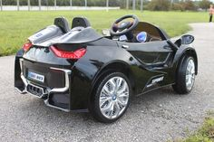 Sport BMW i8 Style Car | 12V | Black