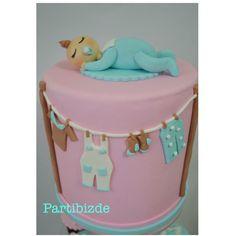 Babyshower sugarart cake!