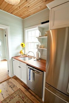 Genius tiny house kitchen ideas (35)