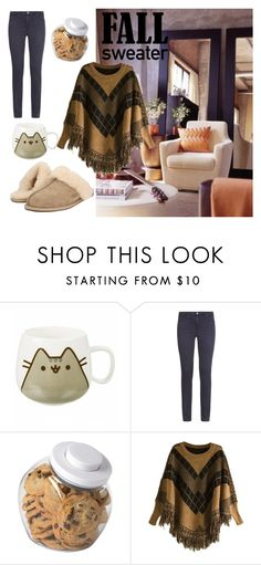 """""""Living the cozy Lifestyle"""" by violante-romani ❤ liked on Polyvore featuring Pusheen, AG Adriano Goldschmied, OXO and UGG"""