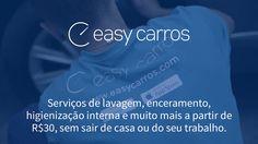 [EasyCarros] Lavagem ecológica em casa por R$9 (R$40 de desconto)