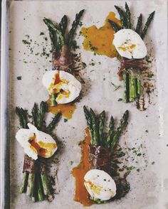 Proscuitto, Asparagus & Eggs Breakfast