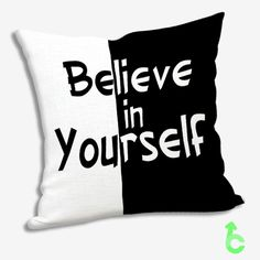 #Believe #in #Yourself #Pillow #Cases #cover #pillowcase